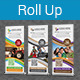 Multipurpose Business Roll-Up Banner Vol-20 - GraphicRiver Item for Sale