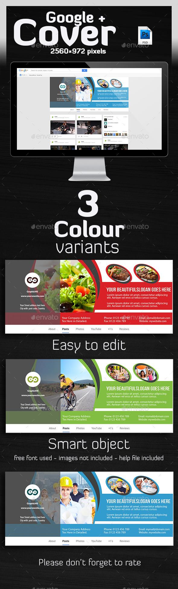 Multipurpose Google Plus Cover - Miscellaneous Social Media