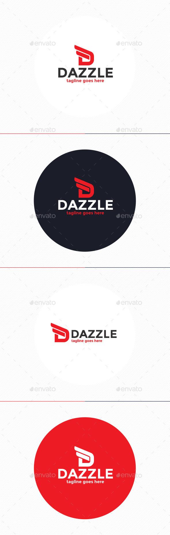 Dazzle Logo • Letter D - Letters Logo Templates