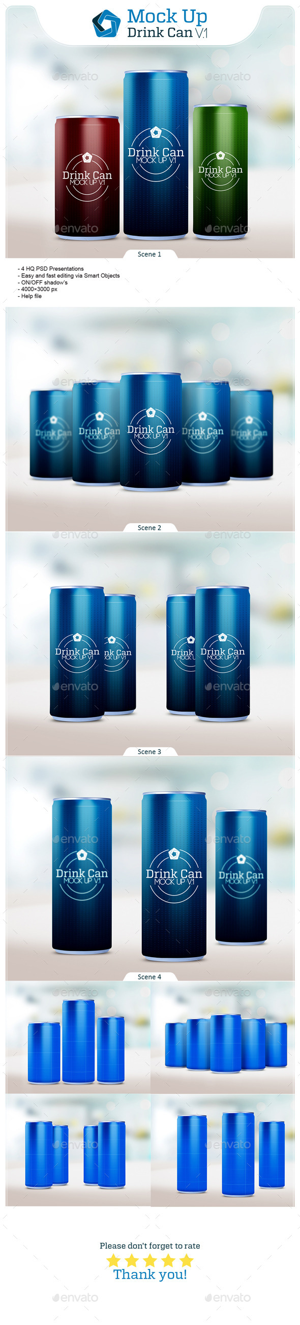 Drink Can V.1 - Food and Drink Packaging