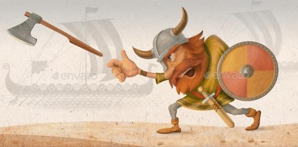 Viking - Characters Illustrations