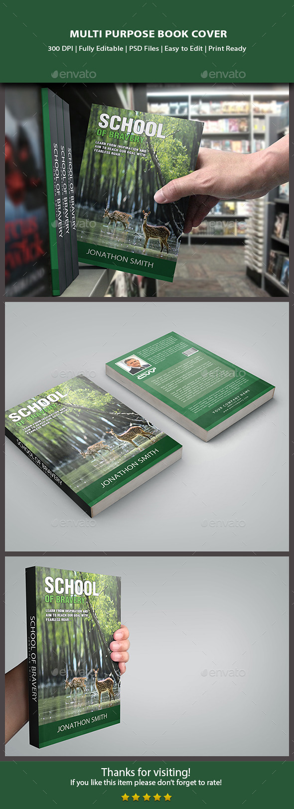 Multipurpose Book Cover - Miscellaneous Events