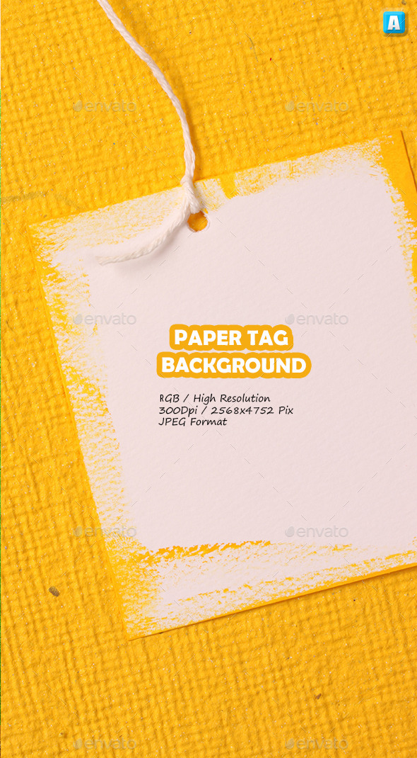 Paper Tag Background 0055 - Miscellaneous Textures