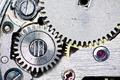 Close-up on clock mechanism - PhotoDune Item for Sale