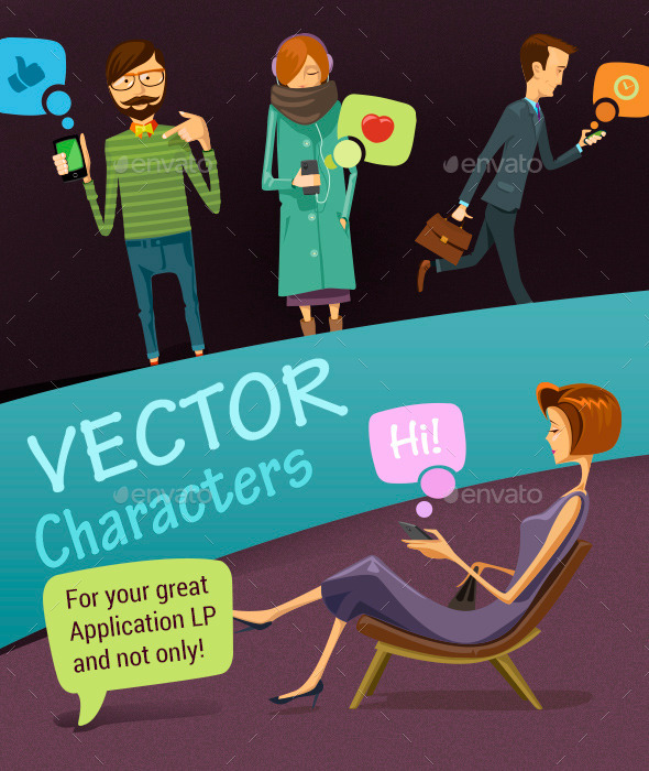 Vector Characters - People Characters