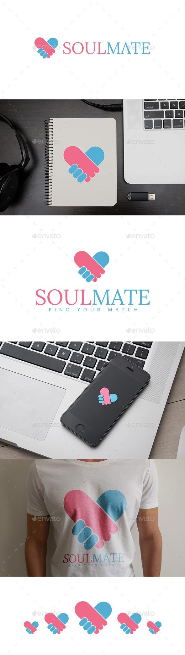 SoulMate Logo - Logo Templates