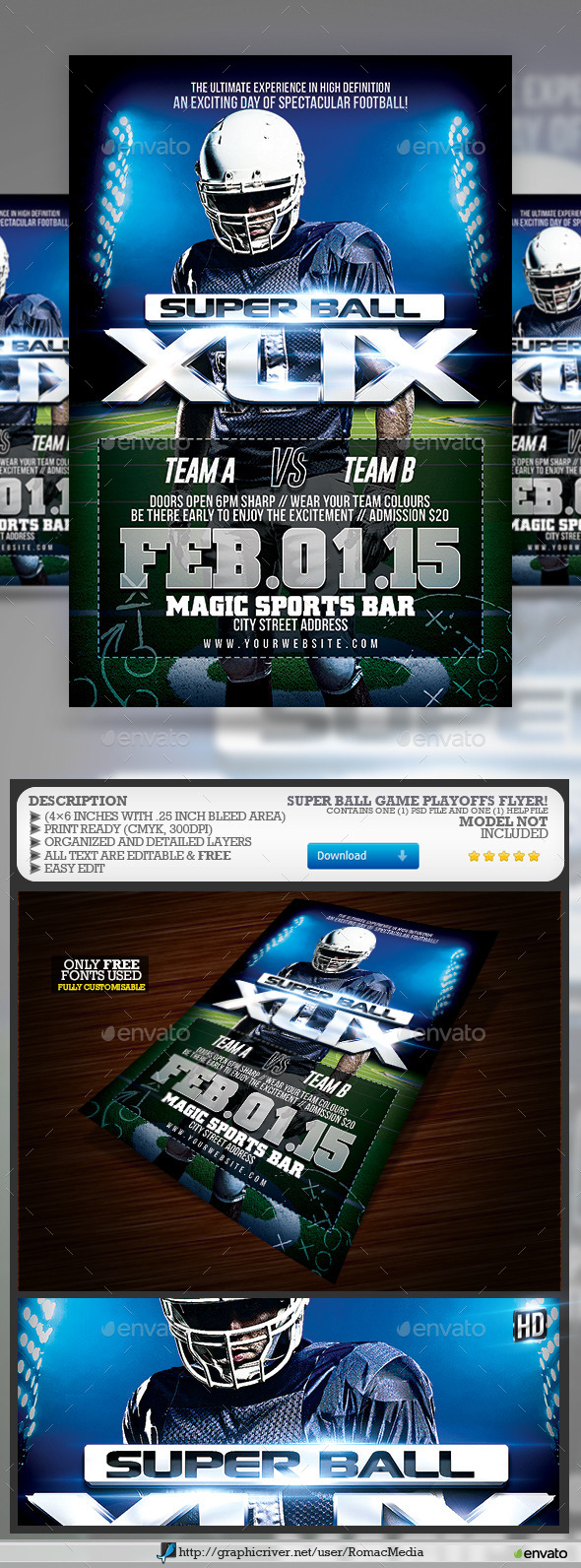 Super Ball Playoffs Game - Sports Events