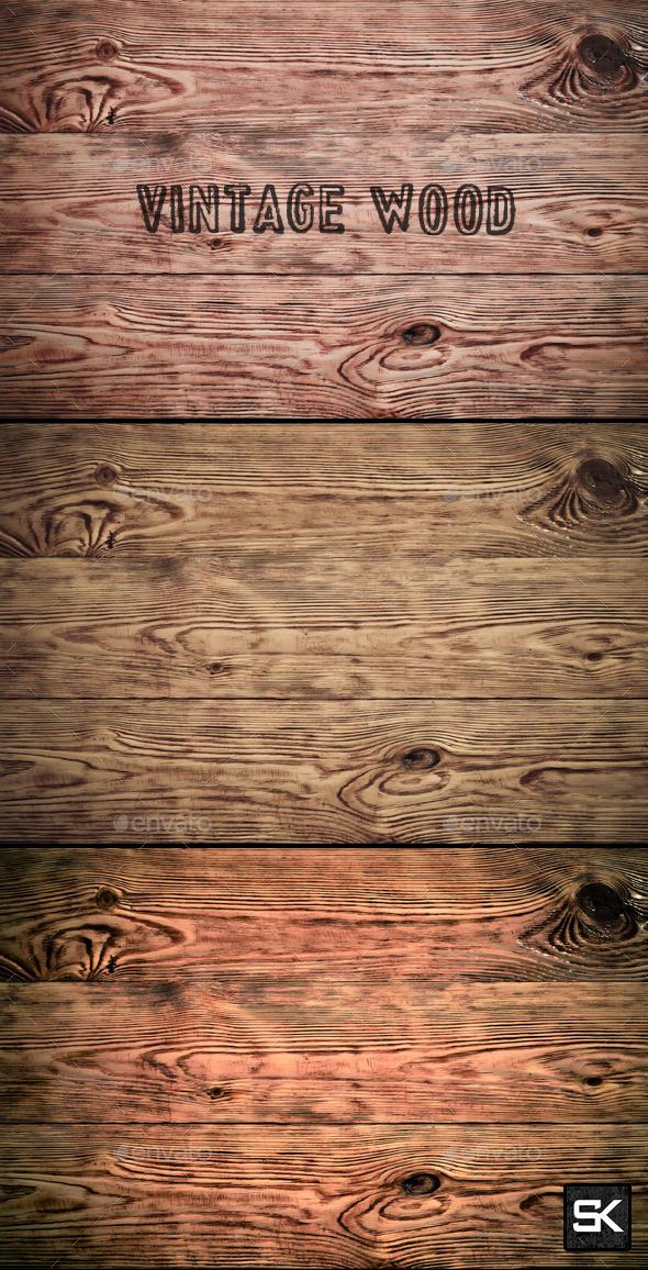 Vintage Wood - Wood Textures