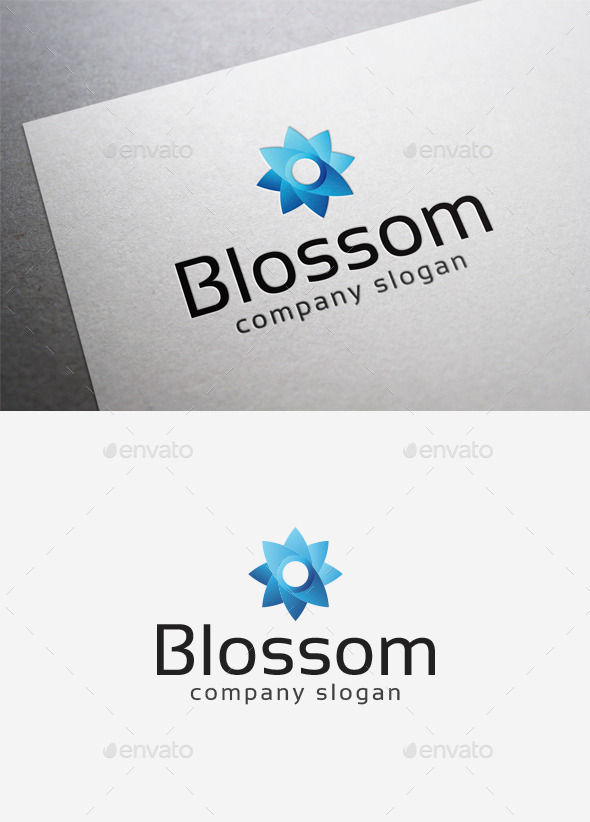 Blossom Logo - Abstract Logo Templates