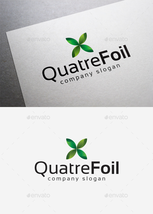 Quatrefoil Logo - Nature Logo Templates