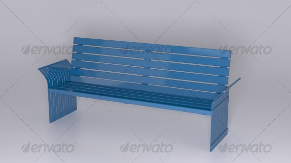 6' Back Bench - 3DOcean Item for Sale