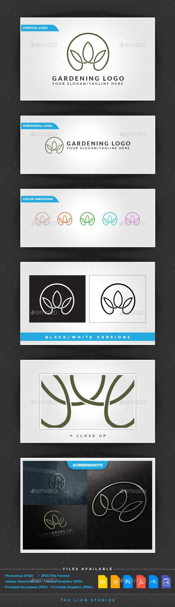 Gardening Logo - Nature Logo Templates