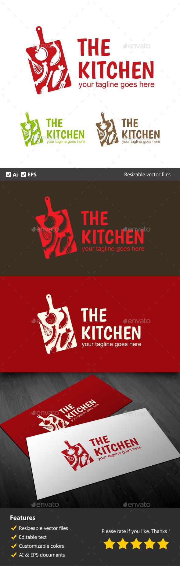 The Kitchen - Food Logo Templates
