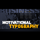Motivational Typography - VideoHive Item for Sale