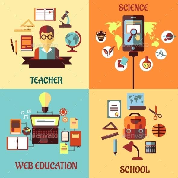 Education Concept - Media Technology