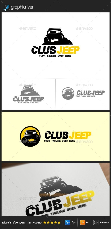 Jeep Logo Templates - Objects Logo Templates