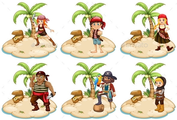 Pirates - People Characters