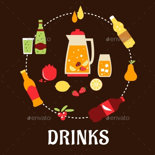 Beverages and Drinks - Food Objects
