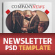 Newsletter Template For Marketing - GraphicRiver Item for Sale
