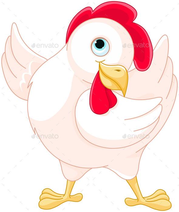 Hen - Animals Characters