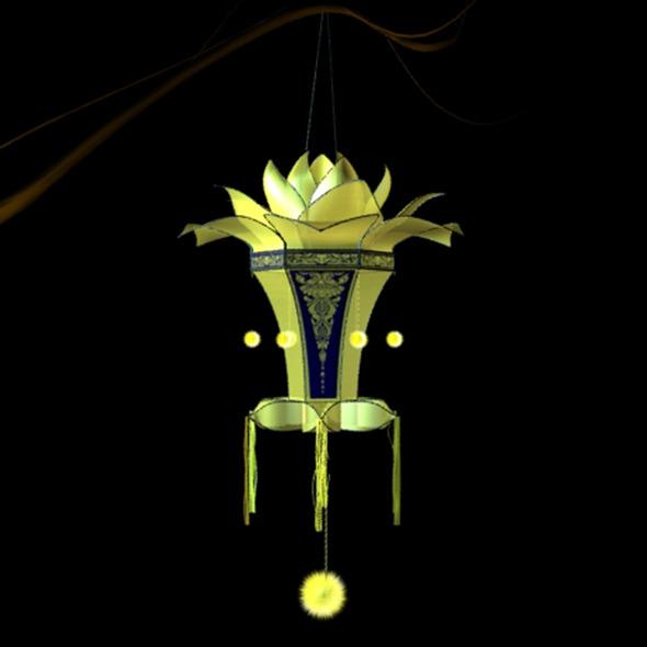 Lantern (wesak) - 3DOcean Item for Sale