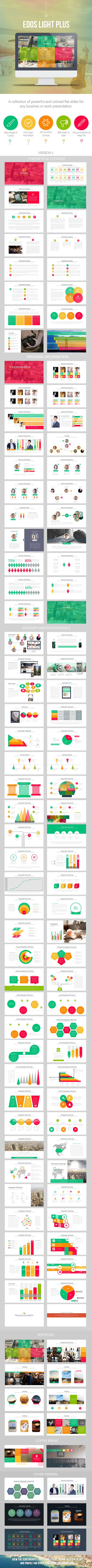 Edos Light Plus - PowerPoint Templates Presentation Templates