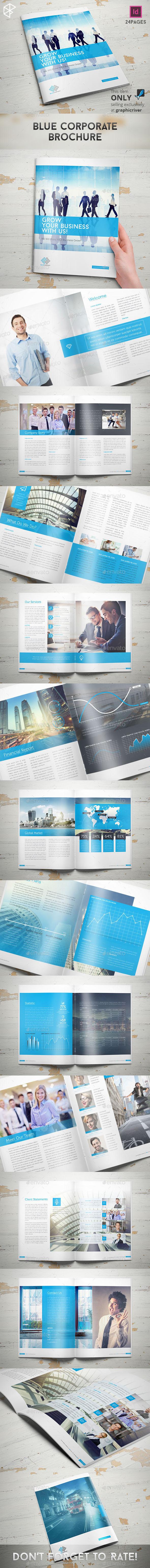 Blue Corporate Brochure - Corporate Brochures