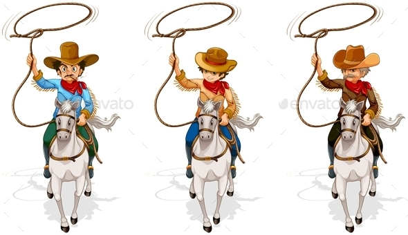 Cowboys - People Characters
