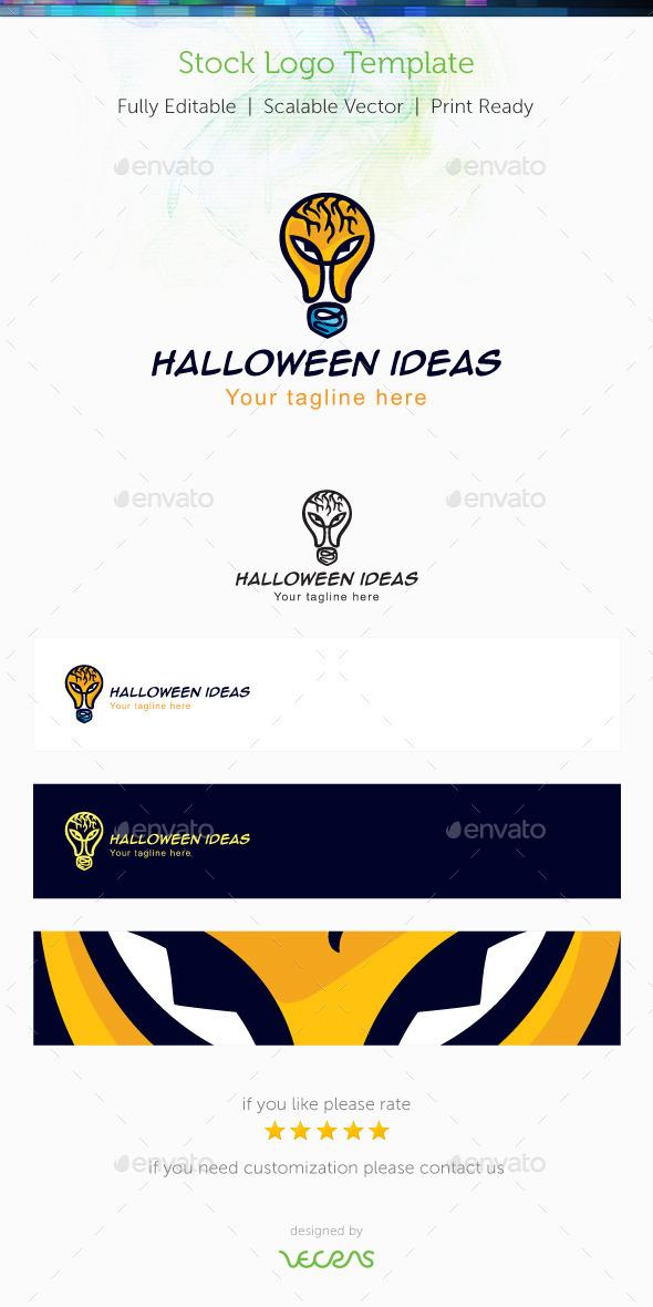 Halloween Ideas Stock Logo Template - Objects Logo Templates