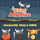 Viking Adventure Sidescroller Game UI - GraphicRiver Item for Sale