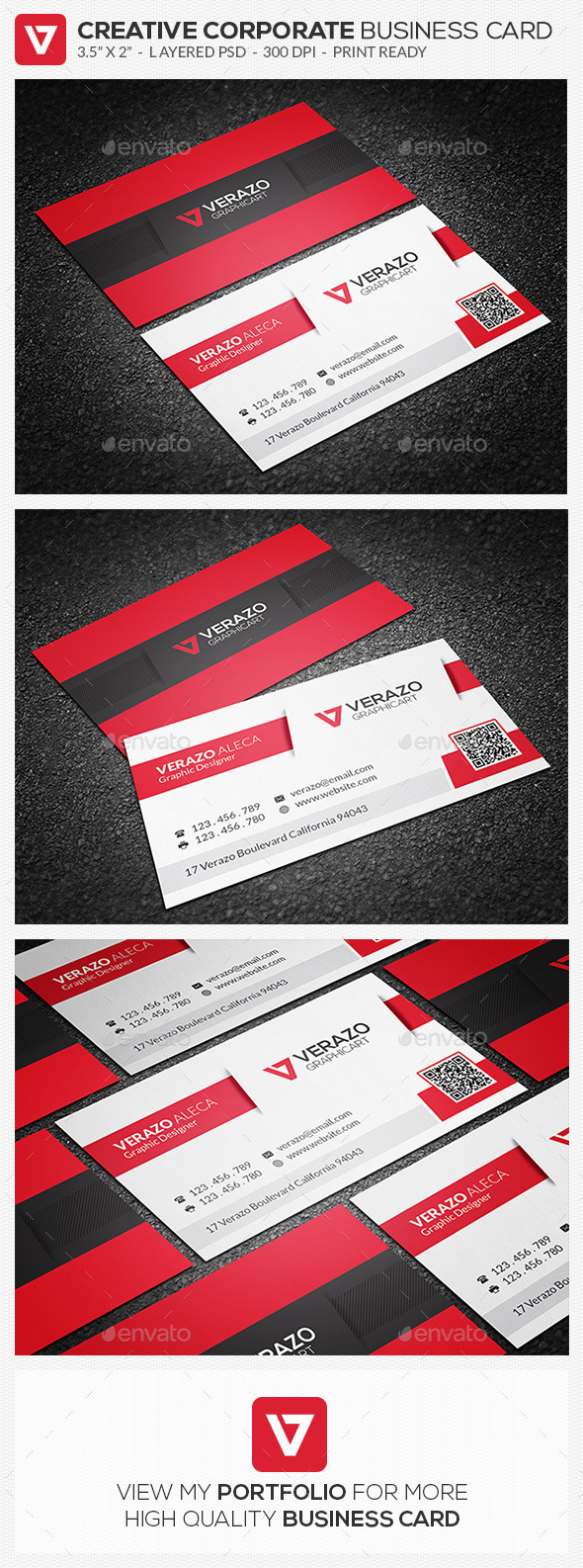 Creative Corporate Business Card 71 - Corporate Business Cards