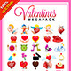 Saint Valentines Vector Pack - GraphicRiver Item for Sale