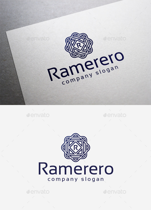 Ramerero Logo - Letters Logo Templates