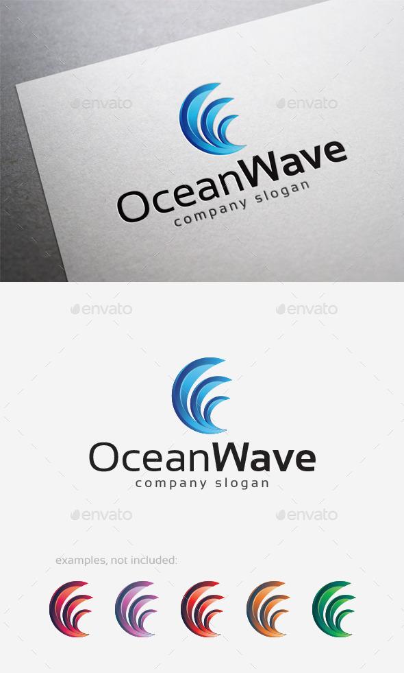 Ocean Wave Logo - Abstract Logo Templates