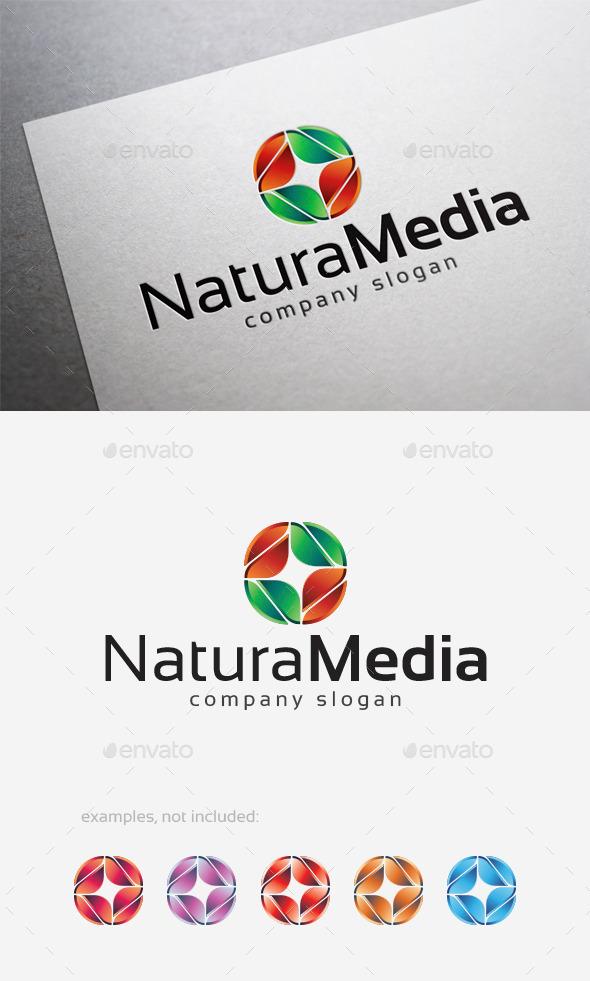 Natura Media Logo - Abstract Logo Templates