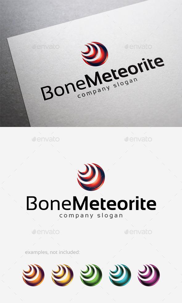 Bone Meteorite Logo - Abstract Logo Templates