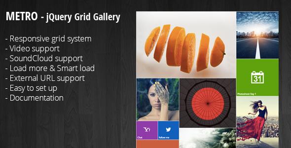 Nulled codecanyon Metro – jQuery Grid Portfolio