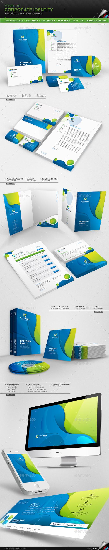 Corporate Identity - Xenya Media - Stationery Print Templates