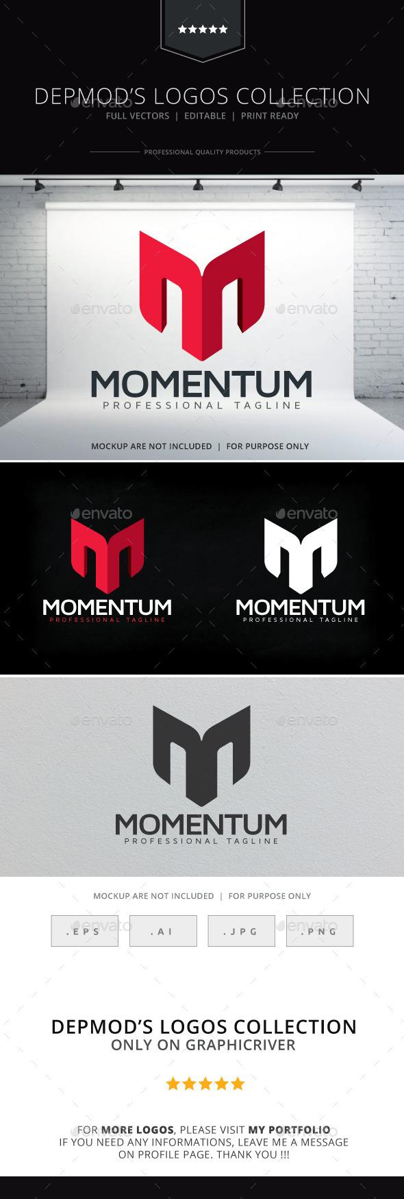 Momentum Logo - Letters Logo Templates
