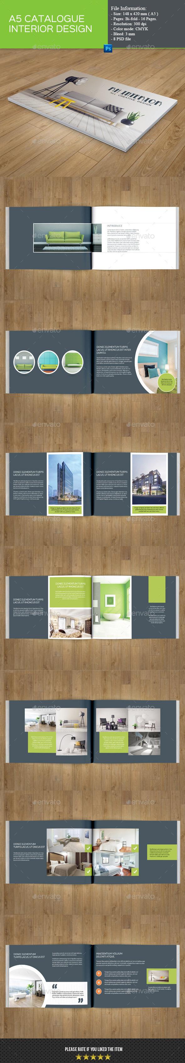 Catalog Template for Interior Design - Catalogs Brochures