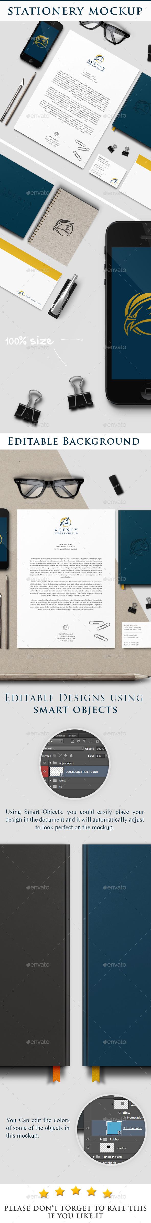 Stationery Mockup - Stationery Print