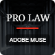 PRO Law - Adobe Muse Template Nulled