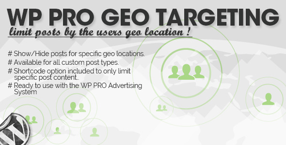 WP Pro Geo Targeting - CodeCanyon Item for Sale