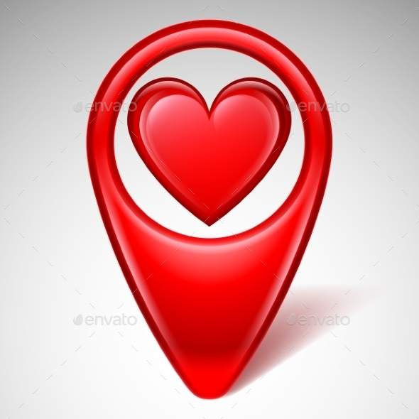Love Map Pointer - Valentines Seasons/Holidays