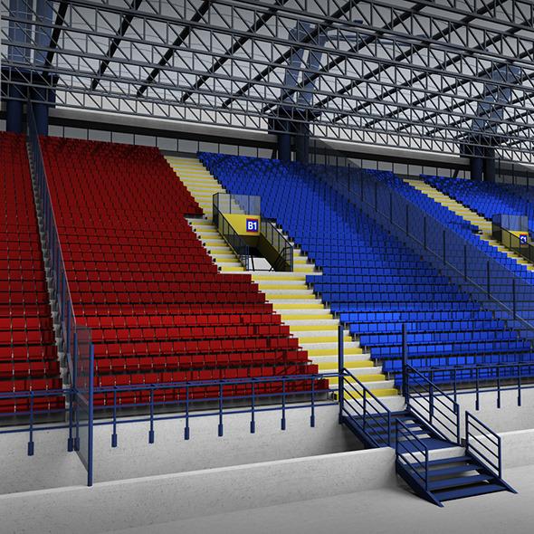 Stadium Tribune High - 3DOcean Item for Sale