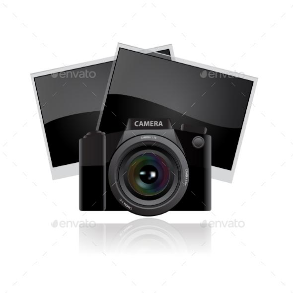 Digital Camera Lens - Miscellaneous Vectors