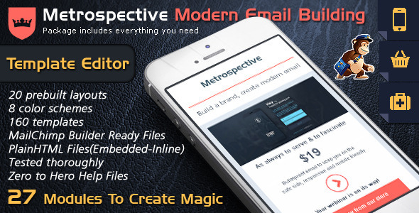 Email Template Builder – Modern Responsive Email