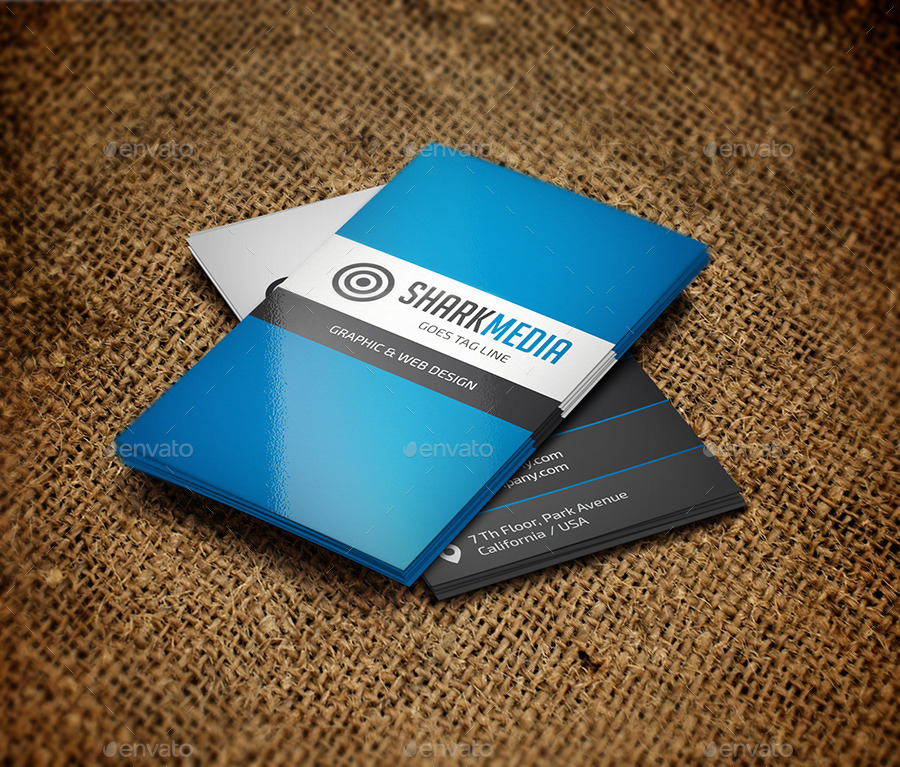 Elegant Business Card 318 by Reddes | GraphicRiver
