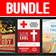 Church Service Flyer Bundle - GraphicRiver Item for Sale