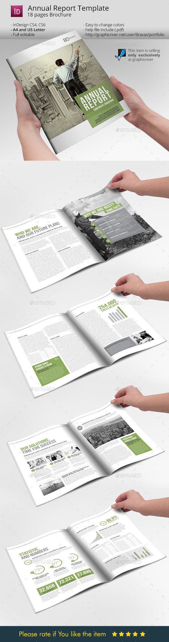 Business Brochure Annual Report - Informational Brochures